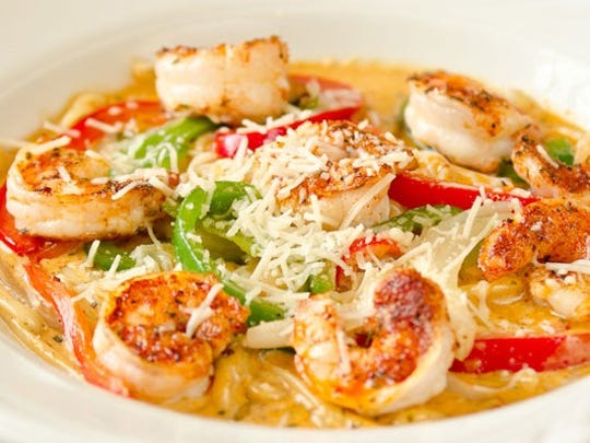 "Shrimp ""voodoo"" pasta is one of the more wicked items"