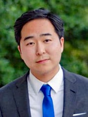 Andy Kim is running as a Democrat for the 3rd Congressional District seat.