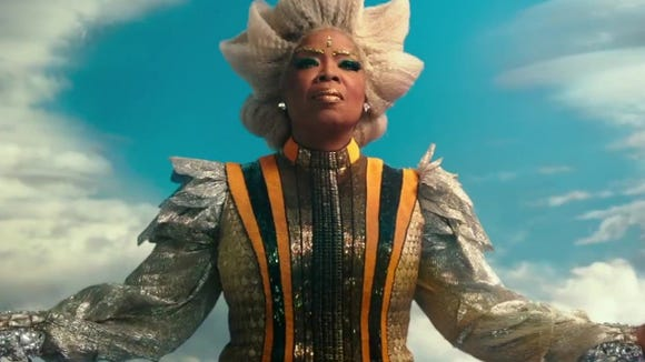 """When you need to cast someone as a powerful celestial being, you naturally call Oprah, seen here in """"A Wrinkle in Time."""""""
