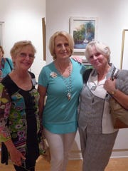 From left, Christine Trevethan, Linda Schoppmeyer,