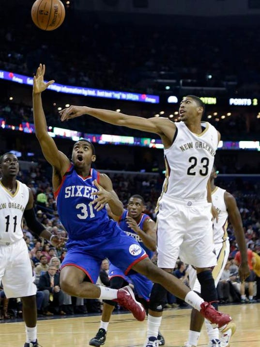 76ers Pelicans Basketball