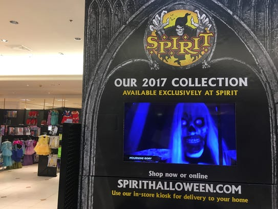 Spirit stores are opening for the Halloween rush.