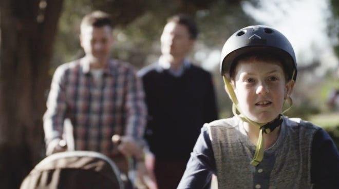 A new Honey Maid ad features a same-sex couple and their son.