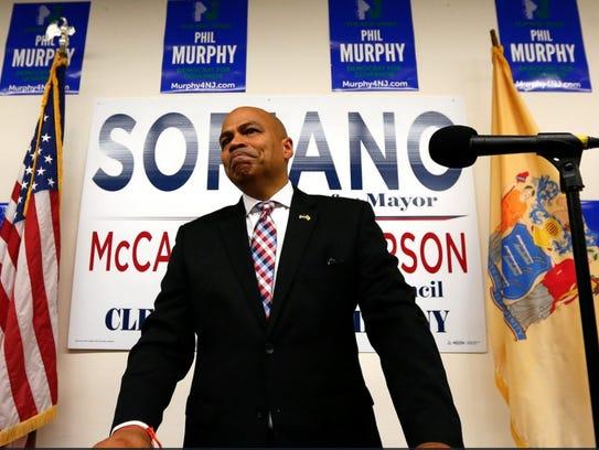 Michael Soriano, Parsippany's mayor-elect.