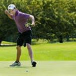 Okemos' Eric Lilleboe, seen here during a previous All-City tournament, is competing in a U.S. Open sectional qualifier this week.