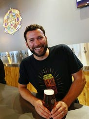 Sun King Brewery co-owner Clay Robinson in the Fishers