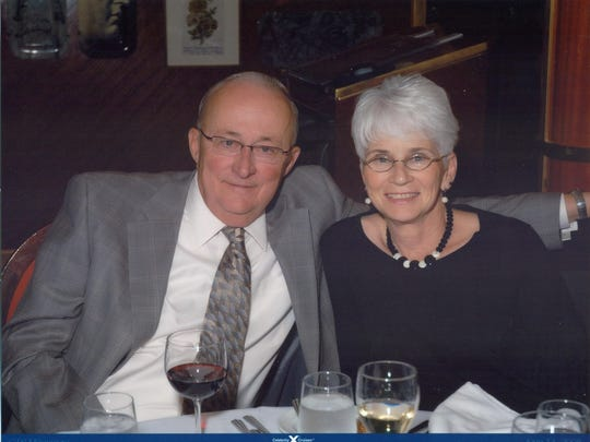Thomas and Barbara Swift of Escanaba died in 2013 after a drugged driver at the wheel of a logging truck ran a red light and smashed into their car. A state law creating a pilot program for roadside drug testing bears their name.