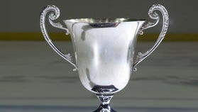 The 2012-13 President's Cup won by the Pensacola Ice Flyers.