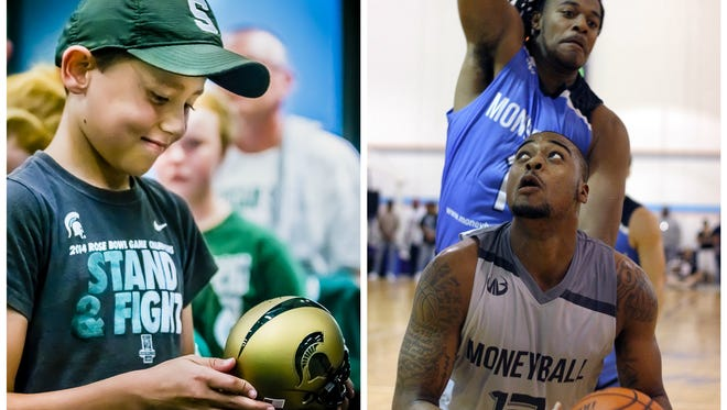 The Moneyball Pro-Am (right) and Meet the Spartans football team are among the events to look forward to for MSU fans this summer.