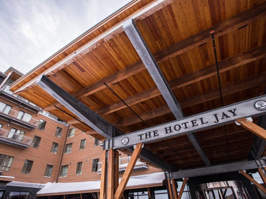 The Hotel Jay, at the center of Jay Peak Resort.