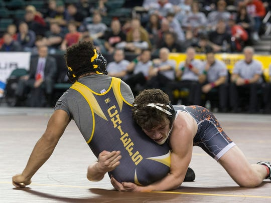 Piscataway's Michael Petite loses to Hasbrouck Heights