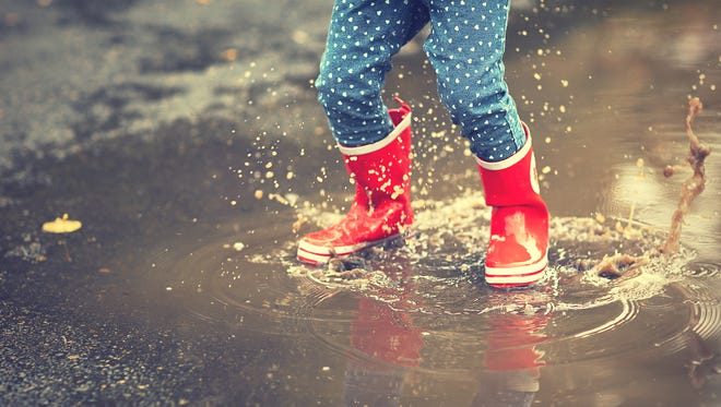 Boots, raincoats and umbrellas will be de rigeur in the coming days.