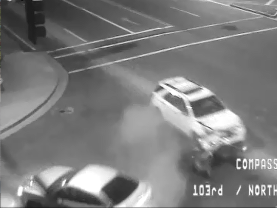 Peoria police are looking for a hit-and-run driver.