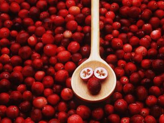 Burligngton County is the largest producer of cranberries