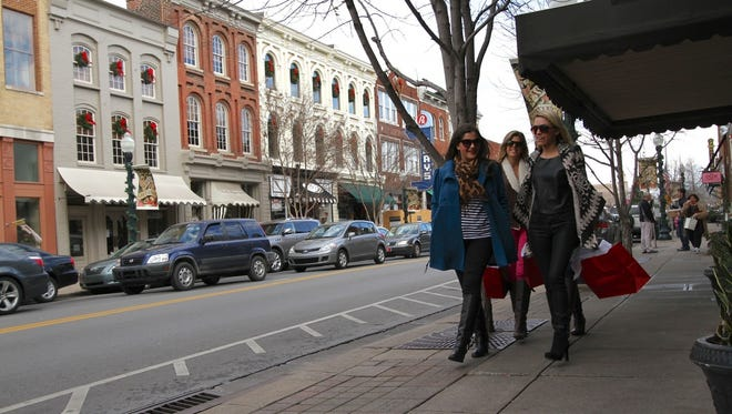 Downtown is one of Franklin's most attractive amenities, said Patricia Straus, director of leadership and development for Re/Max Masters. It is one of the city's features that is driving the increase in home prices.