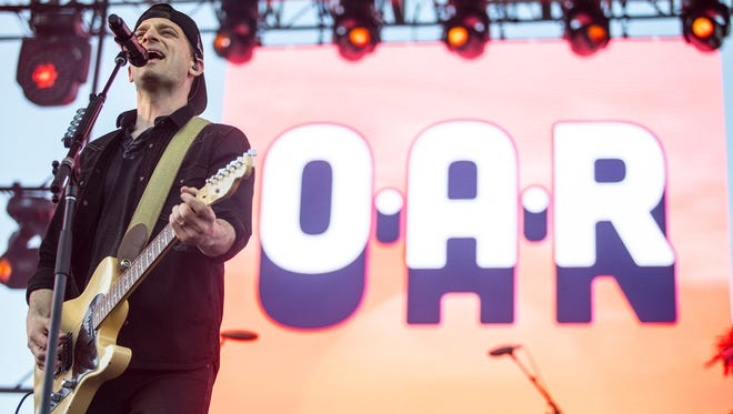 O.A.R performs at McDowell Mountain Music Festival on March. 4, 2018 at Margaret T. Hance Park.