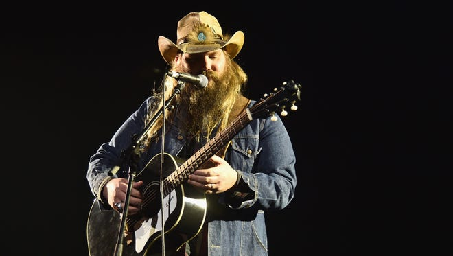 Country/bluegrass musician and songwriter Chris Stapleton headlines an 8 p.m. show Thursday, July 21, at CMAC.