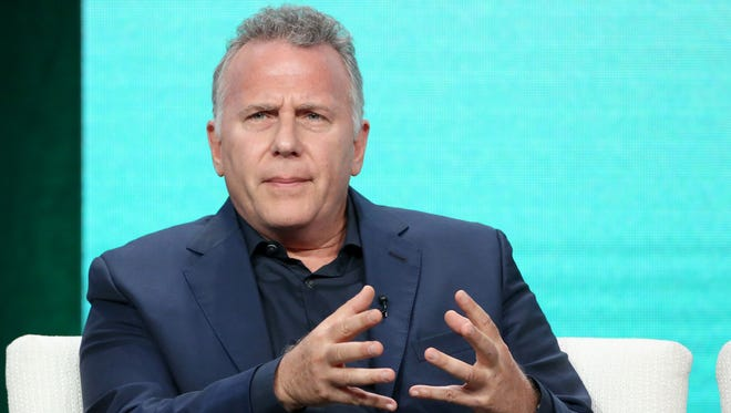 Paul Reiser speaks at Amazon's 'Red Oaks' Panel at the TCA Summer Press Tour on Aug. 7, 2016 in Los Angeles.