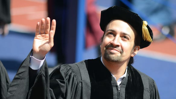 """Your stories are essential,"" says Lin-Manuel Miranda."
