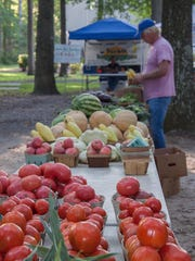 The Farmers Market is open Saturdays year-round at