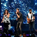 Lady Antebellum perform onstage during the CMA Music Festival at LP Field, Friday, June 12, 2015, in Nashville, Tenn.