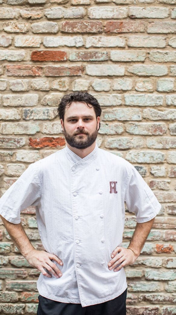 Jonn Buck, chef de cuisine for Husk Greenville.