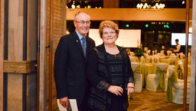 Joanne and Mike Madigan were among the attendees at the 26th annual Gala for Giving on November 7, 2015.