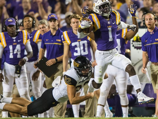 Donte Jackson to be returning kickoffs, and punts for LSU soon