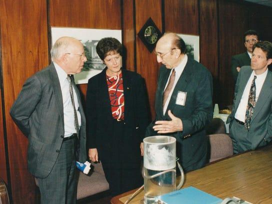 ANI Huntoon with Gibbons & DeBakey