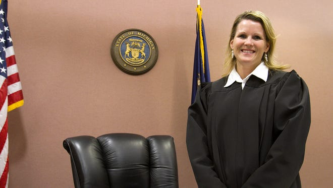 Livingston County Chief Judge Miriam Cavanaugh.