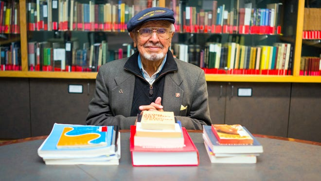 Dr. Felipe Ortego y Gasca plans to continue teachign and writing at 90.
