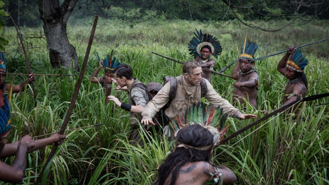 """Charlie Hunnam and Tom Holland star in """"The Lost City of Z."""""""