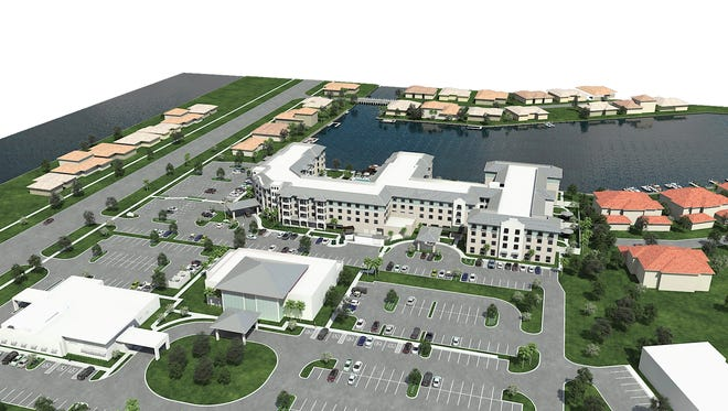 Walt Chancey, owner and developer of The Watermark of Marco Island project, said he wants to build a facility with assisted living, independent living and memory care capabilities at the corner of Heathwood Drive and San Marco Road.