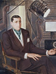 """Portrait of Mr. Jacques Gelman"" (1945), by Angel Zarraga,"