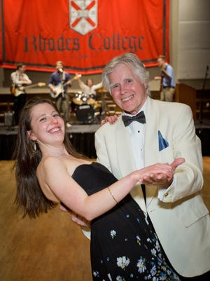 ABOVE: Julia Hamilton dances with Paul Rhodes at an April 7 prom that students held at Rhodes College in Memphis, Tenn. The college students invited members of a local senior citizens center to attend the prom, and they danced to everything from big band music to R&B. The idea grew out of a prom that another student had attended when he was in high school that included both teenagers and senior citizens. It's one of a number of examples of students using proms as a vehicle for good deeds or to promote social change.