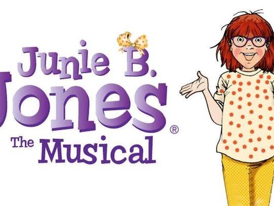 """Junie B. Jones The Musical"" will be presented 1 p.m."