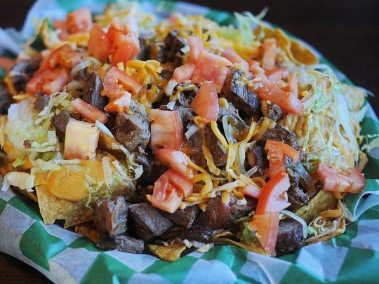 Beef 'O' Brady's steak nachos Monday, Nov. 9, 2015,