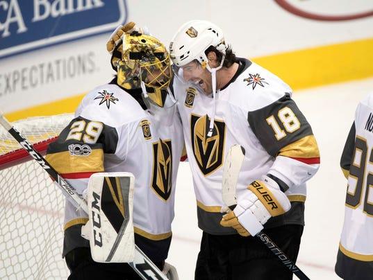 NHL: Vegas Golden Knights at Dallas Stars