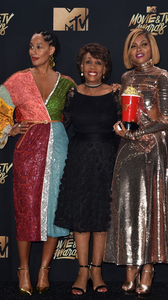 Tracee Ellis Ross, Congresswoman Maxine Waters and