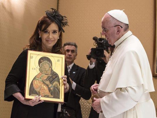Cristina Fernandez, Francis