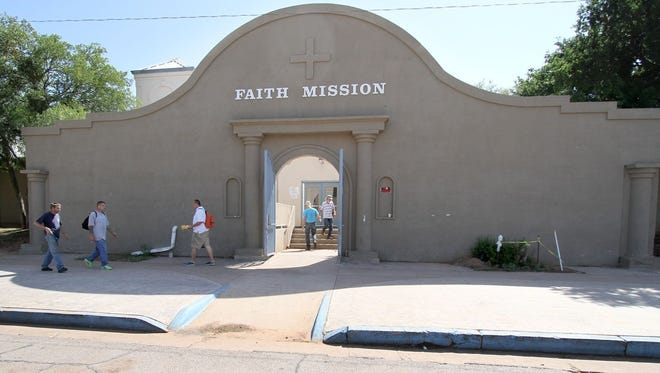 The Faith Mission is one of the shelters for homeless individuals in Wichita Falls.