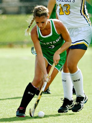 Red Lion High School graduate Paige Taylor is among four former York County high school standouts on the York College field hockey team.