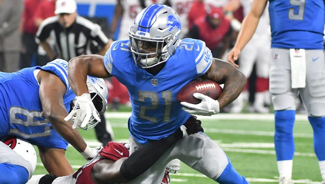 The Lions-Falcons game will be on FOX at 1 p.m. Sunday.