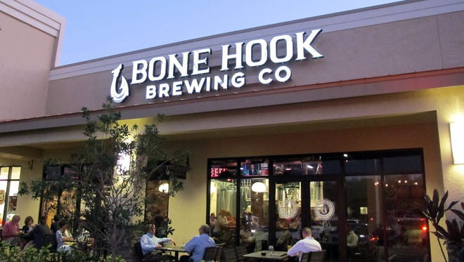 Bone Hook Brewing Co. opened the taps on its 20 craft beers this months in the Creekside Corners retail center in North Naples.