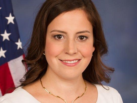 U.S. Rep. Elise Stefanik, R-Willsboro, Essex County,