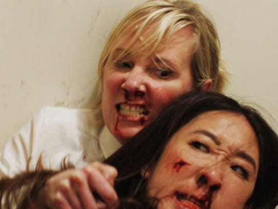 "It's Anne Heche vs. Sandra Oh in ""Catfight."""