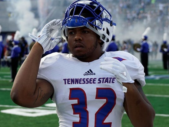 Linebacker Chris Collins helped Tennessee State get
