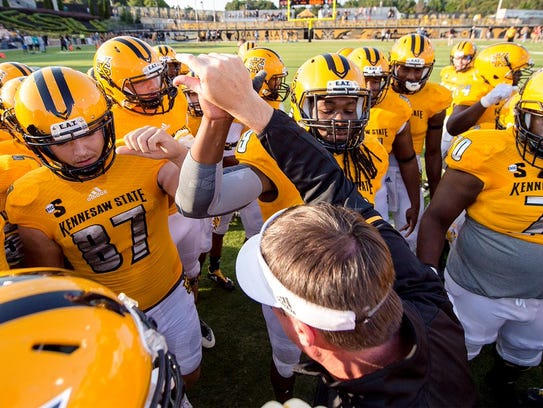 Kennesaw State hosts Monmouth on Saturday afternoon