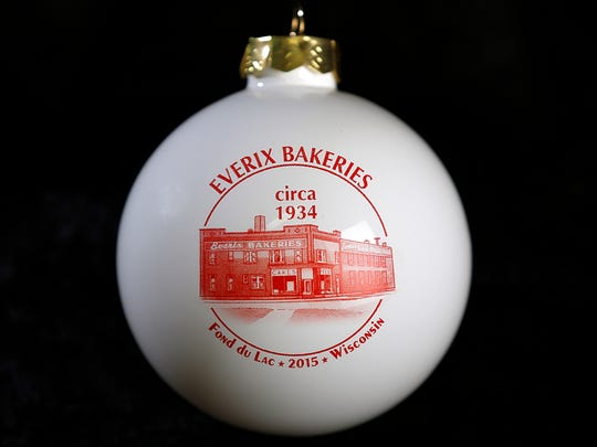 Everix Bakeries ornament.