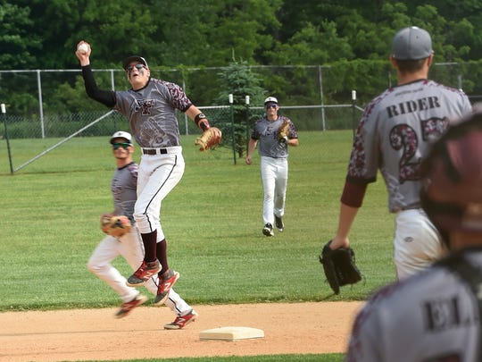 Connor Litton was a fine short stop for Southern Fulton, and he's continued that defensive trend as a third baseman at Cowley Community College, which will play in the Junior College World Series starting Sunday.